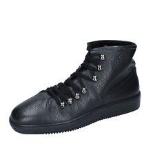 Scarpe uomo ROBERTO BOTTICELLI 41 EU sneakers nero pelle BN809-41