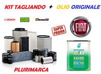 KIT TAGLIANDO COMPLETO FILTRI OLIO ORIGINALE SELENIA 5W30 FIAT 500X 1.6 MULTIJET