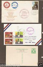 CHINA   APS STAMPEDE 1974 , AIRMAIL CNCL TAIPEI 1971, unused postcard