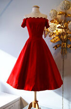 Vintage Red Bridesmaid Dresses