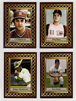 Lot of 4: Ripken Rose Henderson Santo Fan Club serial # /300  🔥