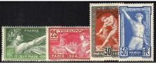 "FRANCE STAMP TIMBRE YVERT 183 / 186  "" JEUX OLYMPIQUES 1924 ""  NEUFS xx LUXE"