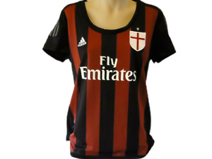 ADIDAS CLIMACOOL AC MILAN 2015/16 HOME JERSEY WOMEN'S SIZE LARGE BRAND NEW