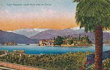 ITALY – Lago Maggiore Isola Bella Vista da Stresa