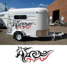 Popular Horse float trailer stickers  1300mm wide  design A1