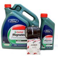 Ford Castrol Magnatec 0W30 Motoröl 6 Liter + Ölfilter 2.0 TDCi