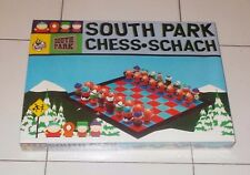 Scacchi SOUTH PARK Chess Schach Comedy Central NUOVO 2000 3D