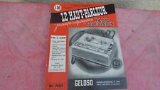 le Haut parleur journal de vulgarisation radio télévision n°1085  mars  1965