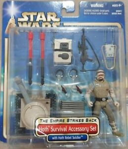 STAR WARS The Empire Strikes Back Hoth Survival Accessory Set + Rebel Soldier