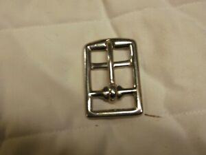 Silver Metal Pin Buckle Belts 25mm wide