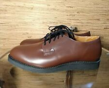 Red Wing 9101 Postman Oxford Chocolate Brown Chaparral Men's Shoes Size 10.5 D