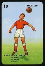 RARE Football Playing Card - Charlton Athletic 1964-5