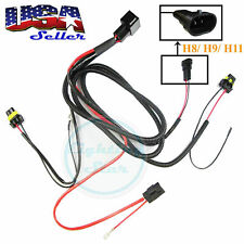 Xenon HID Conversion Kit Relay Wiring Harness Wire Upgrade H8 H9 H11 880 881 899