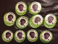 100 1976 Crane Alan Page Football Discs Vikings Notre Dame HOF Potato Chip NM-MT