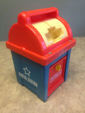 Vintage PLAYSKOOL Postal Station (Mail Box) - No Toy Pieces