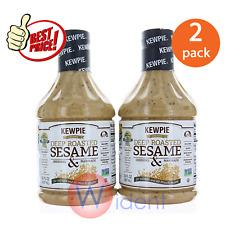 2Pk Kewpie Deep Roasted Sesame Dressing & Marinade 30 Oz