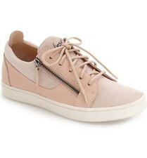 eb0c2cd1491ef Giuseppe Zanotti Light Pink/Beige Leather Low Top Sneaker Women 39.5/9 $595