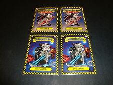 2010 Garbage Pail Kids Flashback Series 1 Lot of 4 Cards Nasty NICK GPK