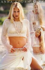 POSTER:TENNIS: ANNA KOURNIKOVA - WHITE DRESS - FREE SHIPPING !!   #JTA04  LBW1 P