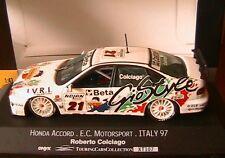 HONDA ACCORD #21 E. C. MOTORSPORT ITALY 97 ROBERTO COLCIAGO ONYX XT107 1/43