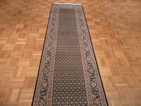 10 Ft. Runner Hand Knotted Mahi Tabriz With Silk Rug
