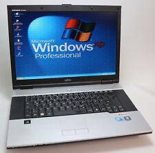 Win XP Pro Retro Laptop Siemens Esprimo Mobile V6555 Intel Core 2 Duo 250 / 2 GB