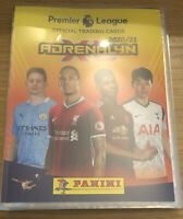 PANINI ADRENALYN XL PREMIER LEAGUE 2020/21 FULL SET OF ALL 468 CARDS IN BINDER