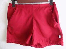 Nike XS Women's Red Running Shorts Drawstring Waist Extra Small 100% Polyester