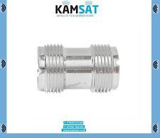 Cb Radio Ham Female Socket to Socket Adaptor Connector 1 x PL259 SO239 UHF