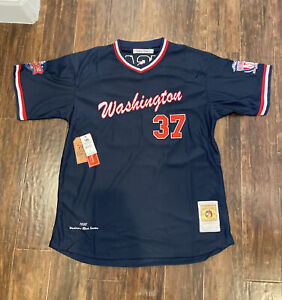 Washington Black Senators Negro League Baseball Jersey Headgear Size Large $100