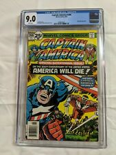 CAPTAIN AMERICA 200 CGC 9.0 (1976) Marvel White Pages Jack Kirby Falcon Madbomb