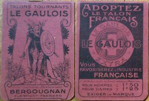 Le Gaulois Shoe Heel 1920 French Advertising Pad w/Viking