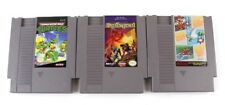 1985 Nintendo NES Games Set of 3