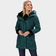 Regatta Green Thermoguard Women's Parka Jacket - 8 RRP £100