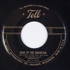 BEAVER VALLEY SWEETHEARTS: '51 TELL Madison Wisconsin Hillbilly 45 Rare HEAR