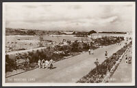 Butlin's Holiday Camp, Filey, N Yorkshire. The Boating Lake. Real Photo Postcard