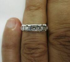 Carat F-Vs2 Size 6 Value=$6,500 14K Gold Diamond Wedding Band Diamond=.90