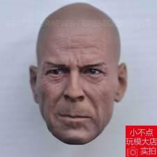Free Shipping 1/6 head Bruce Willis Die Hard GI Joe Retaliation Normall Version