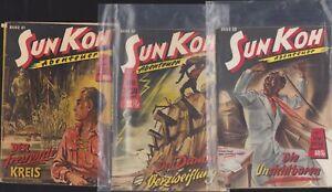 Sun Koh (Planet 1949-1953) #59-67