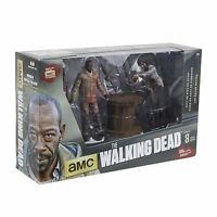 The Walking Dead TV Series 8 MORGAN & ZOMBIE Deluxe Figure Box Set McFarlane AMC