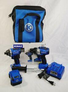 Kobalt Brushless 2-Tool Combo Kit 0672827    A5