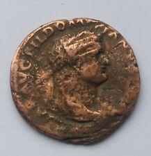 More details for large ancient roman bronze sestertius emperor domitian /81-96 ad/ 25 mm
