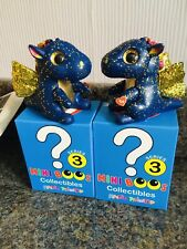 2x TY Mini Boo Figures - Rare Chaser SAFFIRE Twins