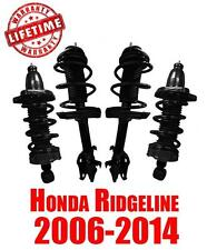 Brand New Front and Rear Complete Spring Struts for Honda Ridgeline 2006-2014