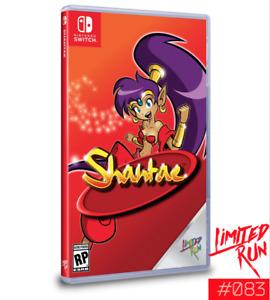 Shantae Nintendo Switch Limited Run Games #083 LRG Brand New Sealed