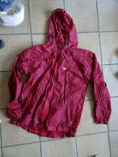 Vêtement de pluie rouge pour cycliste, cavalier ou joggeur T. 54 XL