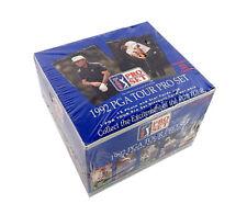 1992 Pro Set PGA Tour Golf Box (36 Packs) scellé en usine