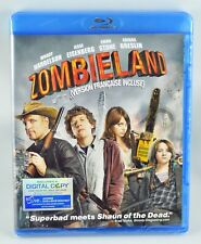 Zombieland (Blu-ray Disc, 2010) Horror Comedy New Sealed! Digital Copy Expired