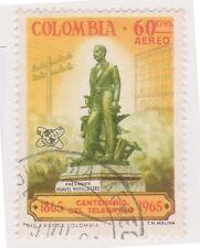 (COA-254) 1965 Colombia 60c air telegraph (AG)