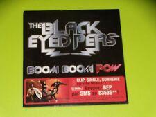 CD  SINGLE - THE BLACK EYED PEAS - BOOM BOOM POW - 2009